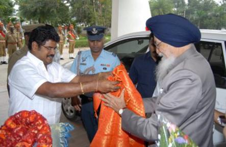 Governor of Tamil Nadu Visits