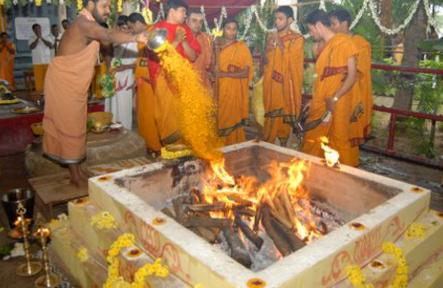 Poorna Haudi of the Rig Veda Homam