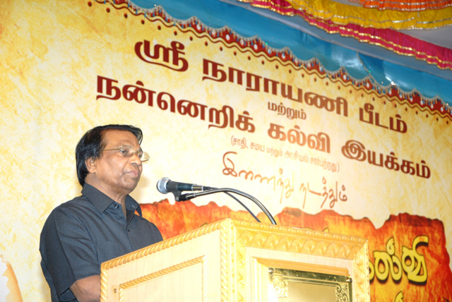 Dr.G. Viswanathan, Chancellor of VIT University in Vellore addresses the gathering