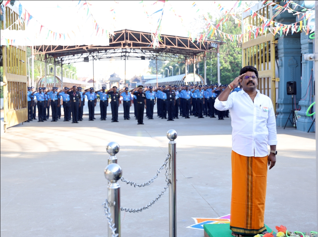Sripuram-71st Republic Day Celebration